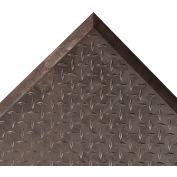 "NoTrax® Diamond Top Interlock™ Center Mat 1/2"" Thick 2-5/16' x 2-1/2' Black"