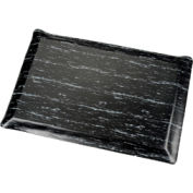 Marbleized Top Ergonomic Mat 3x5 Foot Black