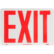 Glo-Brite Exit Sign - Rigid Plastic