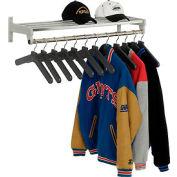 Porte-vêtement mur comprend 12 cintres