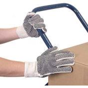 Dozen Women String Gloves With Dots