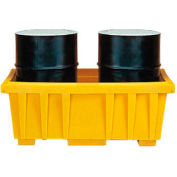 Eagle 1624 2 Drum Spill Containment Sump Basin - without Lid