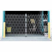 Double pliage de barrière de sécurité 12' W x 8' H