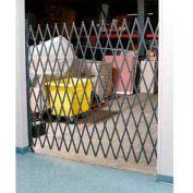 Single Folding Security Gate 5-1/2'W x 8'H