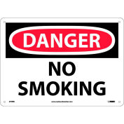 """La signalisation de sécurité - Danger non fumeur - rigide en plastique 10"""" H X 14"""" W"""