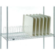 "Tray Drying Rack 12""L x24""D x 8-1/2""H Poly-Z-Brite®"