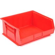 "Akro-Mils AkroBin® Plastic Stacking Bin 30250 - 16-1/2""W x 14-3/4""D x 7""H, Red - Pkg Qty 6"