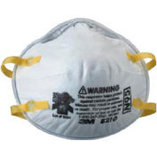 3M™ 8210 N95 Disposable Particulate Respirator, 20/Box