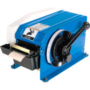 """Global Industrial® Water Activated Tape Dispenser for 4"""" W Tape, Blue"""