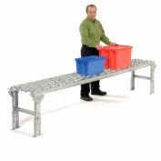 Omni Metalcraft Aluminum Skate Wheel Conveyor Straight Section WAHS3-18-18-5