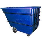 Bayhead produits bleu Heavy Duty 2,2 verge cube Tilt camion 2500 lb capacité