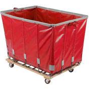 Dandux Vinyl Basket Bulk Truck 400720G14R-3S 14 Bushel - Red