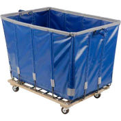 Dandux Vinyl Basket Bulk Truck 400720G16U-3S 16 Bushel - Blue