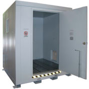 Outdoor Hazardous Chemical Storage Building - 9 Drum