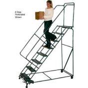 """4 étape 16 """"W sécurité acier Angle roulant Ladder W / mains courantes - Grip Tread"""