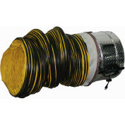"J & D 20"" Portable ventilateur avec 20 pieds conduits VICS20-GLB 1 HP 6500 CFM"