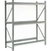 "Extra High Capacity Bulk Rack Without Decking 96""W x 18""D x 72""H Starter"