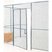 Wire Mesh Hinged Door - 8x3