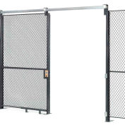 Wire Mesh Sliding Gate - 8x6