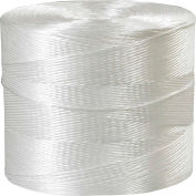 Polypropylene Tying Twine, 1 Ply, 10500'L, 110 Lbs. Tensile Strength, White