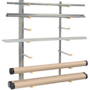 Vestil SR-WM, Wall Mounted Storage Rack (1 Pair)