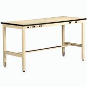 Non conductrice Electronic Workbench 34 pouces haute sable 60 x 36