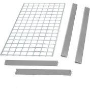 "Global Industrial™ Bulk Rack Shelf Wire Deck 96""W x 48""D - Gris"