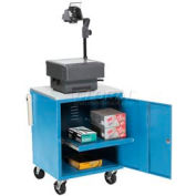Blue Security Audio/Visual Cart 500 Lb. Capacity