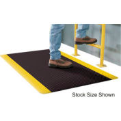 "Apache Mills Supreme Sliptech™ Mat 11/16"" Thick 2' x 60' Black W/Yellow Border"