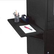 Trousse d'étagères latérales pour meuble d'ordinateur Global Industrial™, noir, ensemble de 2
