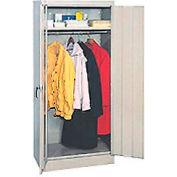 Compact Wardrobe Cabinet 18x18x66 Tan