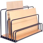 """Adjustable Floor Sheet Rack 48""""L x 24""""W x 36""""H"""