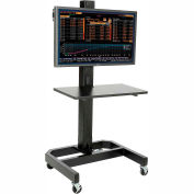 LCD/Plasma Mobile Cart - Black