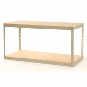 """Record Storage Rack Without Boxes 72""""W x 30""""D x 36""""H"""