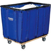 Best Value 16 Bushel Blue Vinyl Basket Bulk Truck