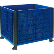 """Easy Assembly Solid Wall Bulk Container 39-1/4""""L x 31-1/2""""W x 29""""H Overall"""