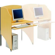 Interion® Privacy étude Carrel, le module Carrel, teck
