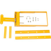 """Spring-Loaded Safety Gate 24""""- 40""""W Opening Yellow"""