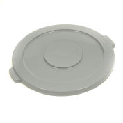 Global Industrial™ Plastic Trash Container Lid, Garbage Can Lid - 10 Gallon Gray
