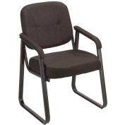 Guest Chair - Fabric - Black