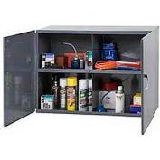"Durham Utility Cabinet 338-95 Dark Gray - 33-3/4""W x 12""D x 23-7/8""H"