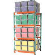 "Record Storage Rack Starter Polyethylene Box 48""W x 48""D x 96""H"