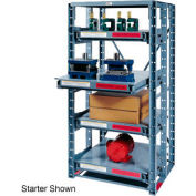 Roll Out Extra Heavy Duty Shelving Add-On 3 Shelf 48x48x72