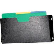 Steel Wall File Pockets Legal Size - Black