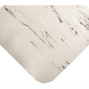 "Antimicrobial Tile Top Antifatigue Mat 7/8"" Thick 36x60 Gray"