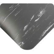 "Antimicrobial Tile Top Antifatigue Mat 7/8"" Thick 3 Ft Wide Full 60ft Charcoal"
