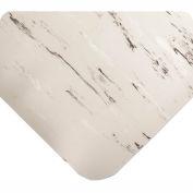 "Antimicrobial Tile Top Antifatigue Mat 1/2"" Thick, 24x36 Gray"