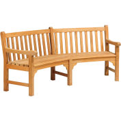 "Essex Curved 83"" Bench"