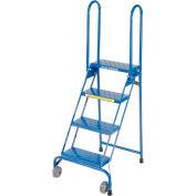 4 Step Lock-N-Stock Folding Ladder - LS4247