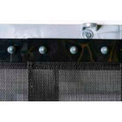 """Replacement Aleco® Air-Flex® Black Insect Barrier Strip 400707 8""""W x 7'H"""
